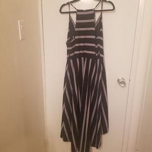 White House Black Market Dresses - White House Black Market HiLo Stripped Dress